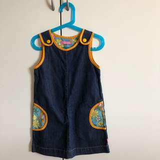 🚚 Blue Dress (Size 4-5 years)