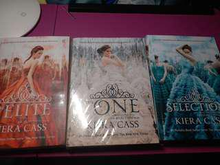 Novel The Selection, The Elite, The One by Kiera Cass