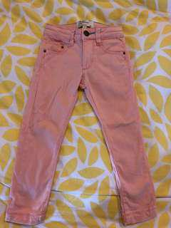 🚚 Padini Peach Casual Pants-100% Cotton (3 year old)
