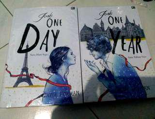 Novel Just one day, Just One Year by gayle Forman