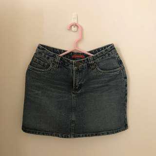 ♡牛仔短裙