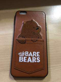 We Bare Bears style IPhone 6 Plus cases