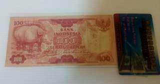 100 Rp 1977