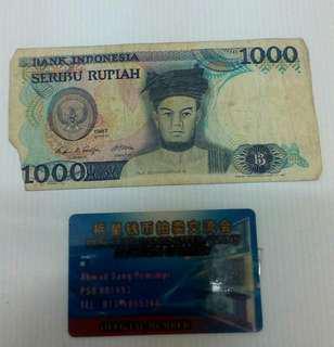 1000 Rp 1987