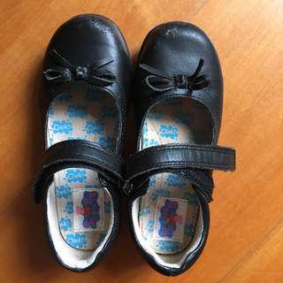 Peppa pig 返學鞋,Black shoes size 28/18
