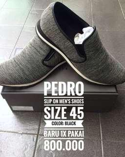 PEDRO Size 45 slip on shoes
