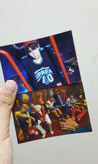 BTS Photocard Unofficial Love Yourself