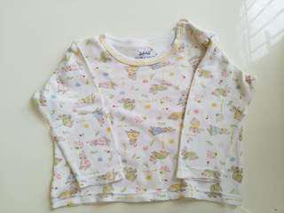 Baju tidur (shirt tangan panjang dan celana panjang)