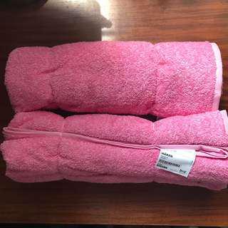 IKEA Hären Bath Towel Set of 2