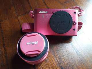 Nikon 1 J2 Digital Camera - Pink