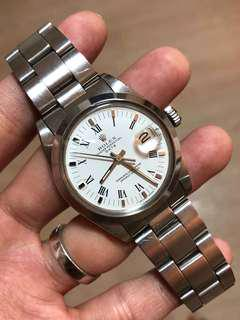 (Cheap!) Rolex Oyster Perpetual Ref. 1500 (Thick Bracelet)