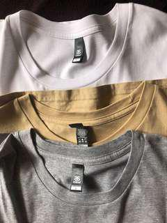3x Brand New ASOS Tall Tees  Large