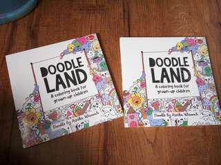 Doodle Land Coloring Book
