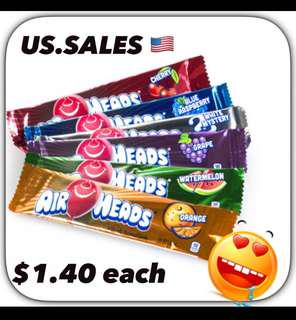Airheads 6 Flavors from 🇺🇸