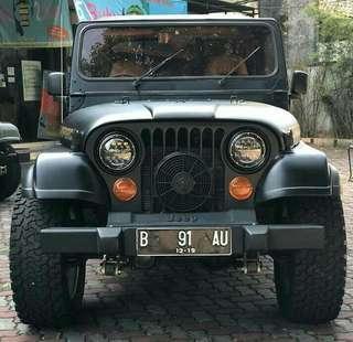 CJ7 Laredo bensin 1984 M/T
