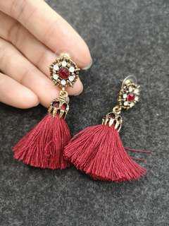 Tassel Earrings (#044)