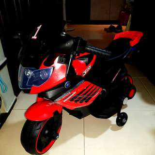 Brand New Rechargeable Electric Kids Motorcycle