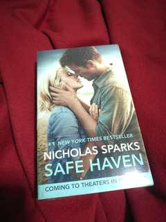Safe Haven by Nicholas Sparks (Movie cover)