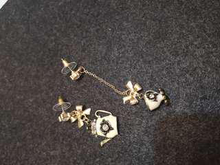 Teacup and pots earring (#049)