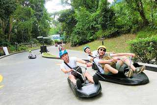 Luge & Skyride 2, 5 or 6 rounds or Cable Car