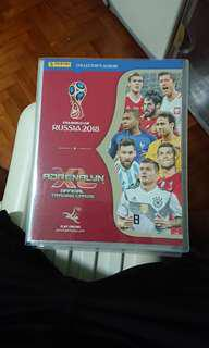 Near complete panini adrenalyn xl world cup 2018 collection