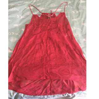 Size Small Lole Sheer Summer Top
