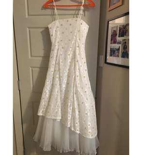 Size 0: Floral/Communion/Wedding Dress