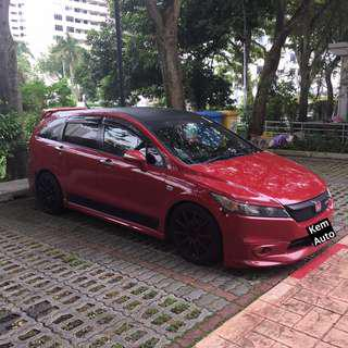 HONDA Stream 1.8A HKS for uber / grab / personal rental