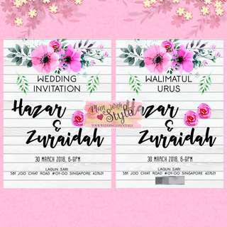 WC28 ~ Wedding Card