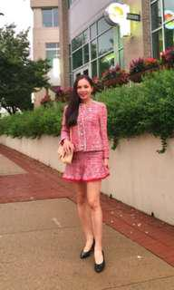 Inc pos Zara tweeted red mini skirt