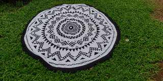 Beach towel carpet & picnic blanket