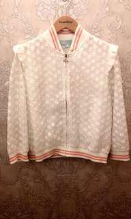 🚚 Kb Knightsbridge 白色蕾絲外套