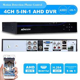 1774. KKmoon 4 Channel 1280*720P CCTV Network DVR H.264 HDMI Home Security System Alarm Email