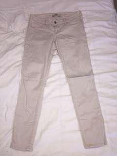 Hollister Beige Jeans