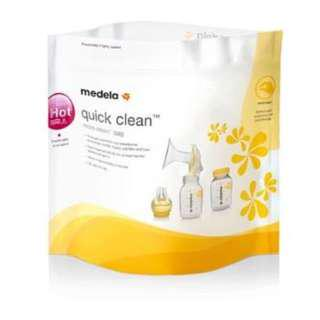 Medela Quick Clean Micro Steam Bag (New)
