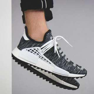 Adidas nmd human race pharel williams black oreo premium quality