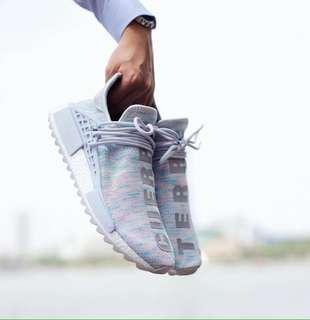 Adidas nmd human race pharel williams cuerro terre premium quality