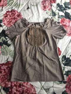#MauIphoneX Gray Top