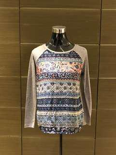 Stradivarius Loose Aztec Top