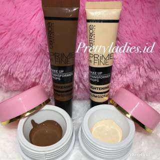 Catrice Prime and Fine Make Up Share in jar