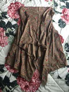 #MauIphoneX Floral Vest