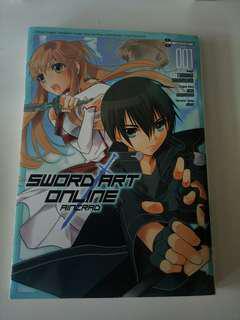 SAO manga