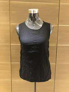 Black Zara Basic Blouse