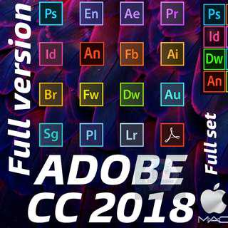 [MAC] ADOBE CC 2018 FULL SET FULL VERSION