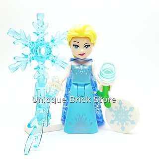 [Unicque] Lego Disney Princess Minifigure - Elsa Frozen (41155)