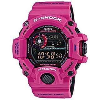 Casio watch G-Shock Rangeman Sunrise Pink GW 9400SRJ