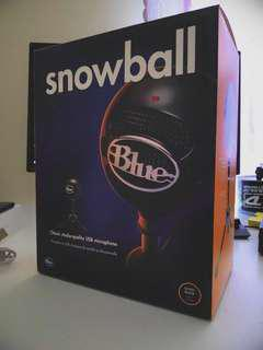 Blue Snowball Condenser Microphone [Black]
