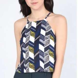 LOVE BONITO DAGIAN PRINTED TOP