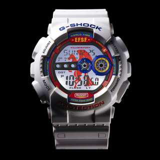 Casio Gshock Releases Gundam 35th Anniversary G-Shock GD-100 (New)