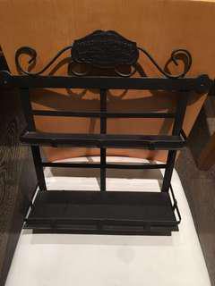 Maison metal spice rack